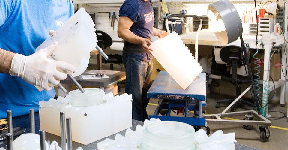 vacuum casting polyurethane casting